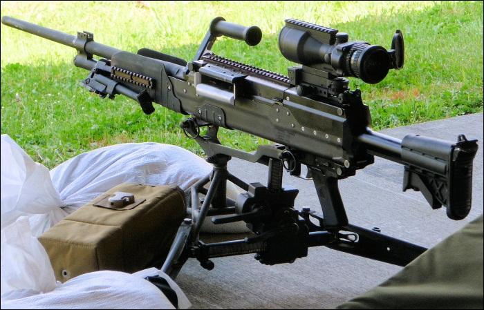 Quelle est l'arme représentée sur cette photo ?