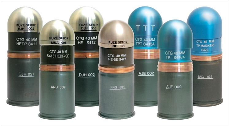 Comment s'amorce une grenade de 40mm pour les lance-grenades de type M-203 ?