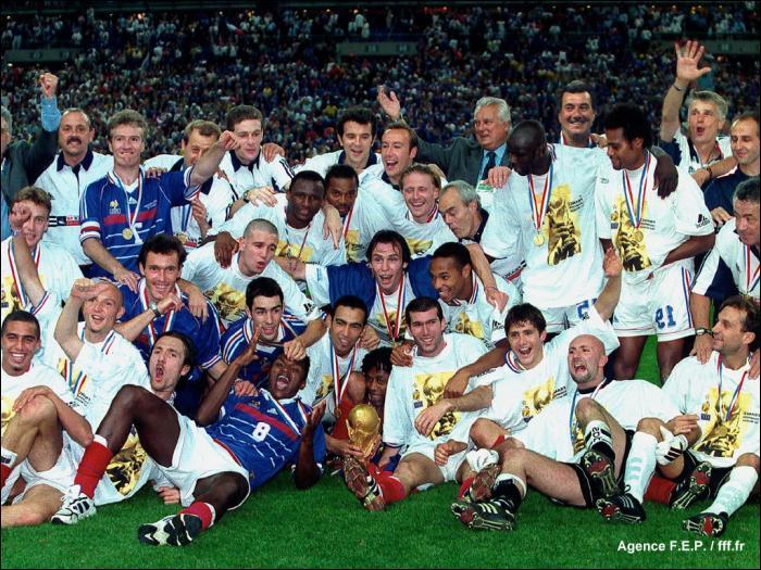 En quelle année la France a-t-elle gagné la Coupe du monde de foot ?