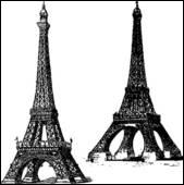 La tour Eiffel fut édifiée entre :