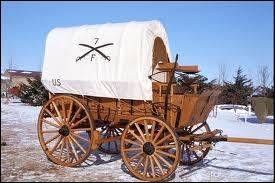 Quel est le nom de ce chariot bâché des pionniers d'Amérique ?