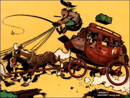 On ne comptait plus les attaques à son encontre par des malfrats dans l'ouest américain au XIXème. Comment s'appelle-t-elle ?