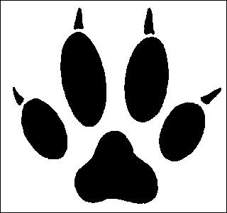 A quel animal fidèle appartiennent ces empreintes ?