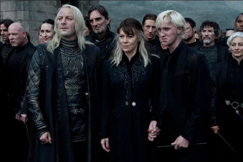 A la fin de la bataille de poudlard , sa famille devient du côté de Dumbledore :