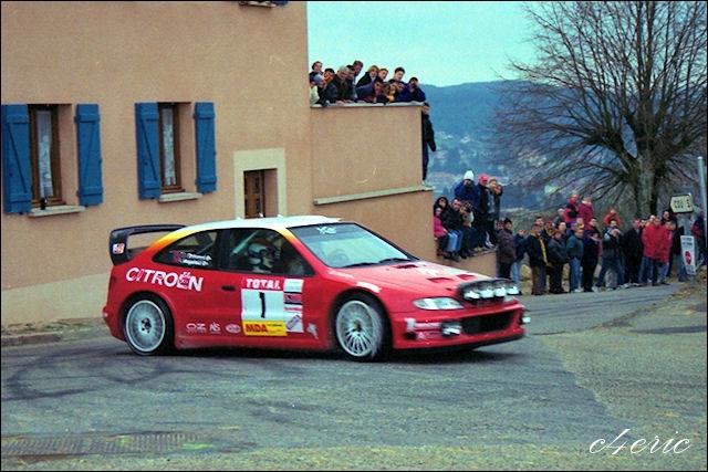 Quel est le nom du prototype de la Xsara WRC ?