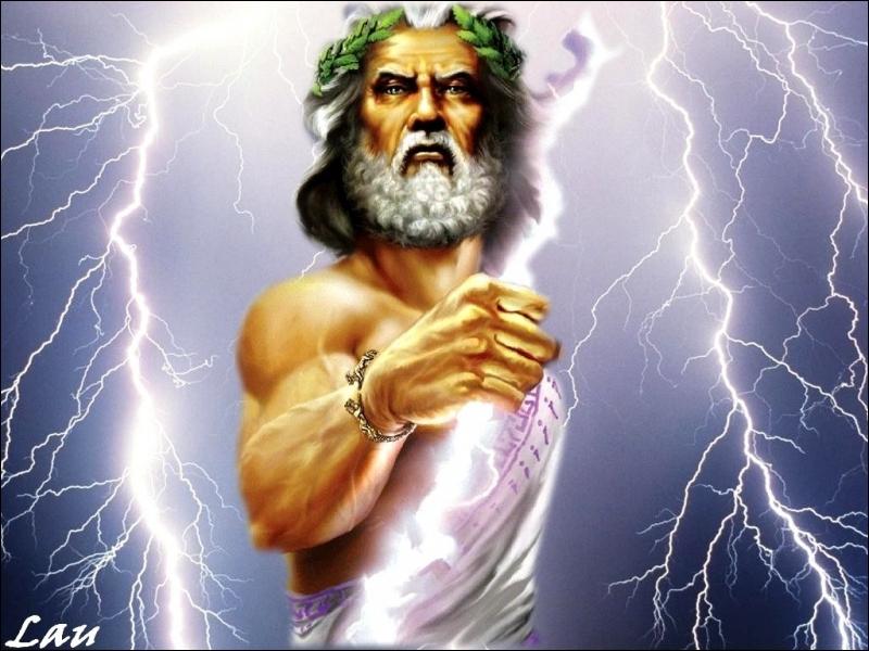 L'expression latine ''Deus ex machina'' signifie à peu près...