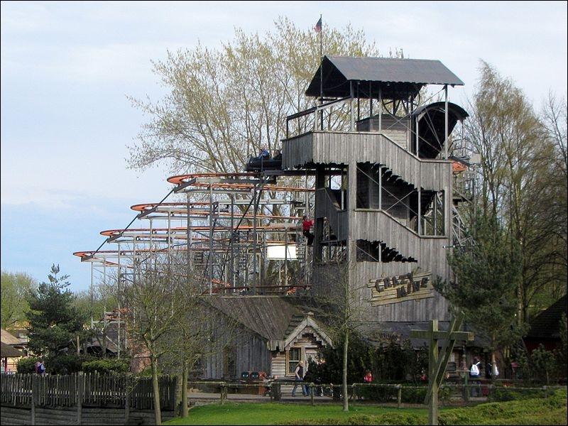 Crazy Mine est la Wild Mouse d'Hansa Park.