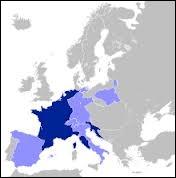 L'Empire français atteint son apogée en 1811. Comment sont nommés les Etats alliés de l'Empire ?