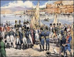 Le 6 avril 1814, Napoléon abdique et est envoyé en exil, à l'île d'Elbe. Dans quelle ville avait-il abdiqué ?