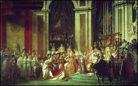 Napoléon Ier est sacré et couronné le 2 décembre 1804. Quelle est la particularité de son couronnement ?