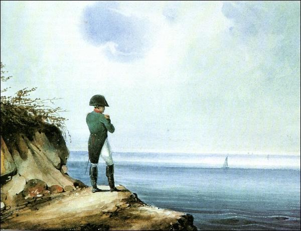 Napoléon est ensuite exilé à l'île de Sainte-Hélène. En quelle année meurt-il ?