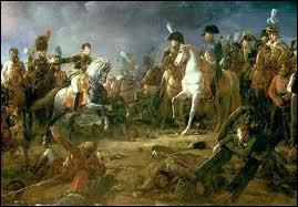 La bataille d'Austerlitz est une victoire pour l'armée française. Cette bataille est aussi appelée . Qui étaient les trois empereurs ?