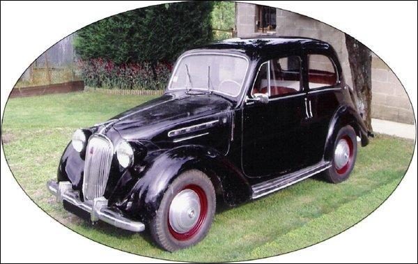 Et cette petite voiture d'après-guerre ?
