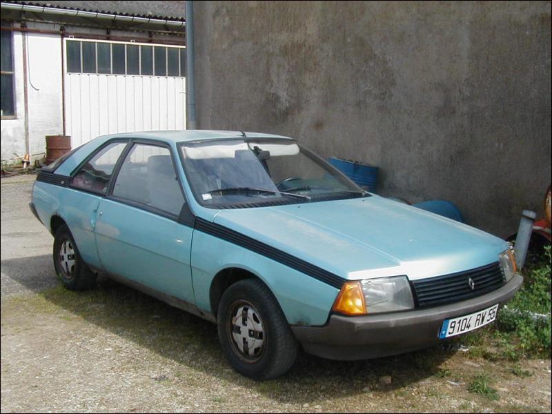 Cette voiture plus récente est une ?