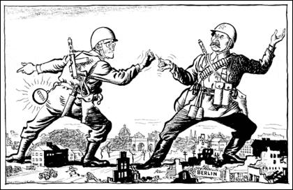 Quelle était la principale crainte des soviets quant au Berlin du monde libre ?