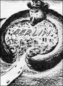 En quelle année bloquèrent-ils Berlin ?