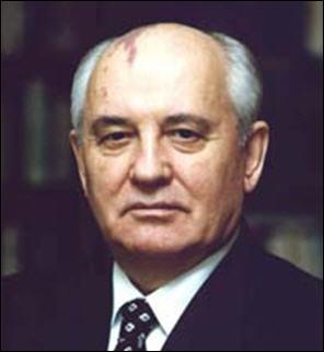 Comment s'appellelaient les premières réformes communistes mises en place par Gorbatchev dès 1987 ?