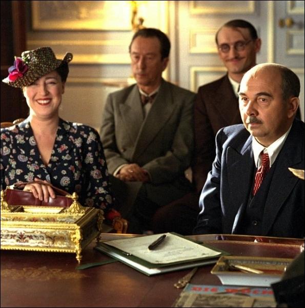 Qui était   Madame Batignole   , la femme du boucher-charcutier parisien sous l'occupattion, dans le film  Monsieur Batignole  ?