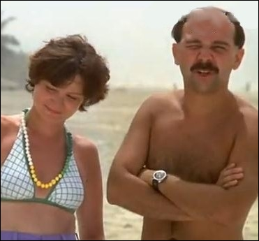 Elle était Nathalie, la femme de Bernard Morin dans le premier épisode des   Bronzés   en 1978 ... .