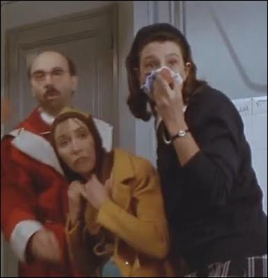 Quelle actrice interprète   Zézette  l'amie de Thérèse dans   Le père Noël est une ordure  ?