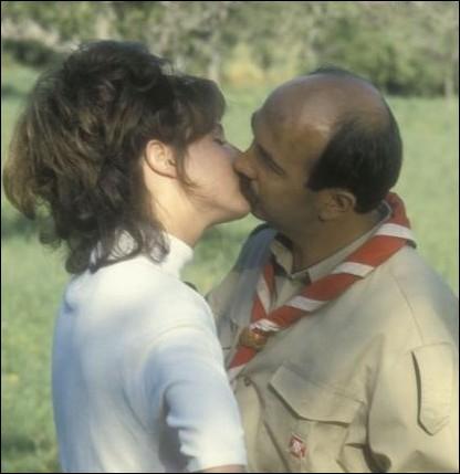 Dans ce film de 1985, Agnès Blanchot campe Marie-France la fille de l'agriculteur,  aguicheuse de Biquet, joué par Gérard Jugnot ... .