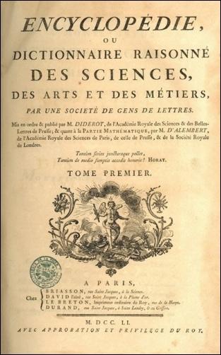 Denis Diderot lui a chargé l'écriture du chapitre de l'Encyclopédie de musique, mais il a aussi participé à celle(s) de...