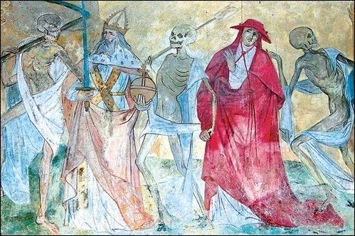 Qui a composé  La danse macabre  ?