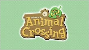 Comment est le logo d'Animal Crossing sur la cartouche ?