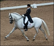 En dressage... quelle position doit-on adopter ?
