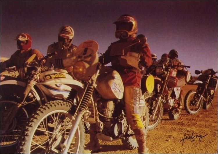 ''500 connards sur la ligne de départ 500 blaireaux sur leurs motosÇa fait un max de blairsAux portes du désertUn paquet d'enfoirésAu vent du Ténéré'' Où se court le Dakar depuis 2009 ?