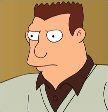 Qu'est-ce que le père de Fry redoute le plus ?