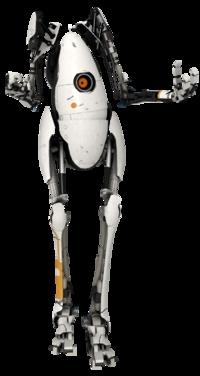 Qui est ce personnage ? Indice : Deuxième robot du mode multijoueur de Portal 2.