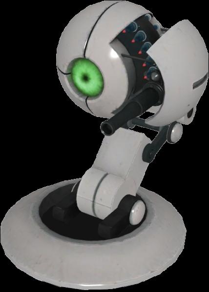 Qui est ce personnage ? Indice : Tourelle visible dans Portal 1.