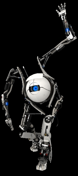 Qui est ce personnage ? Indice : Premier robot du mode multijoueur de Portal 2.