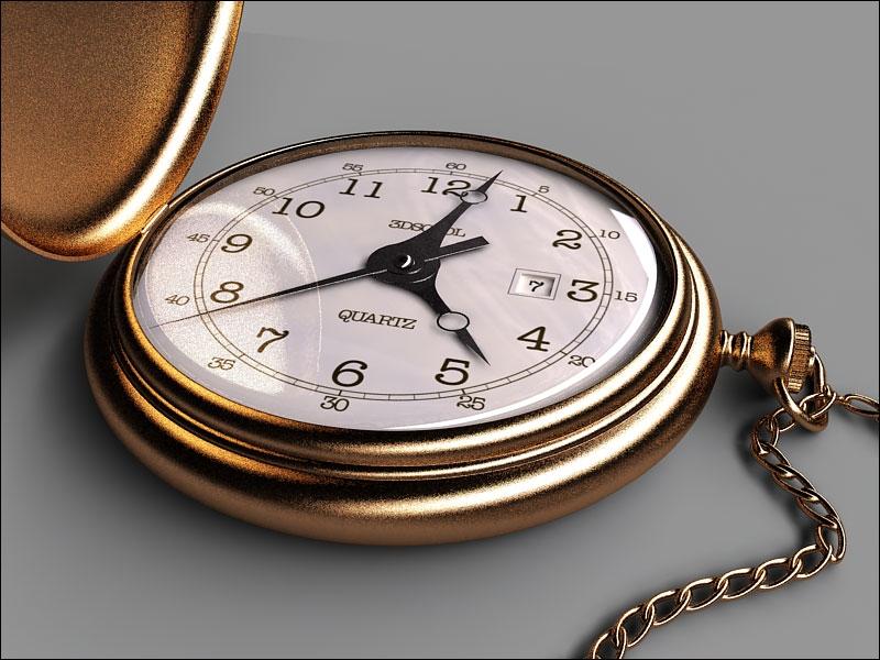Cette autre montre se glissait dans une petite poche, d'où on la retirait avec une chaîne. Comment s'appelle-t-elle ?