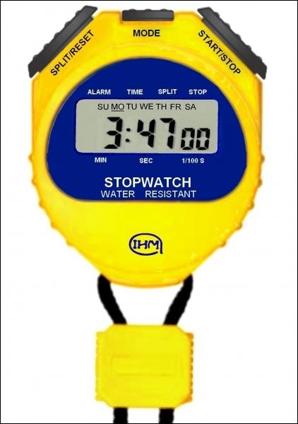 Quel est le nom de cet autre mesureur de temps qui inquiète toujours les athlètes ?