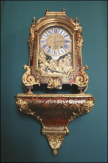Comment s'appelle-ce superbe objet du XVIIème au subtil mécanisme d'horlogerie ?