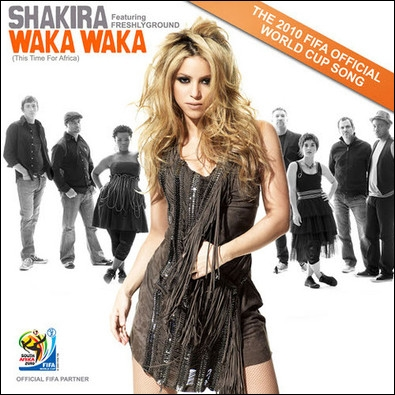 Retrouvez la suite de ces paroles :  You're a good soldier, Choosing your battles, Pick yourself up, And dust yourself...   (Waka Waka_Shakira)