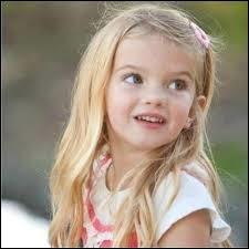 Quel âge a-t-elle ? (en mai 2013)