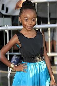 Quel âge a-t-elle ? (en 2013)