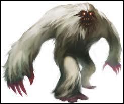 Quel monstre est gigantesque ?