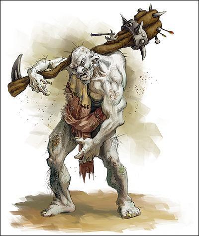 Quel monstre est fait en os ?