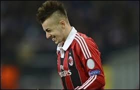 Lui, il évolue en Italie (AC Milan). Savez-vous quel est ce joueur ?