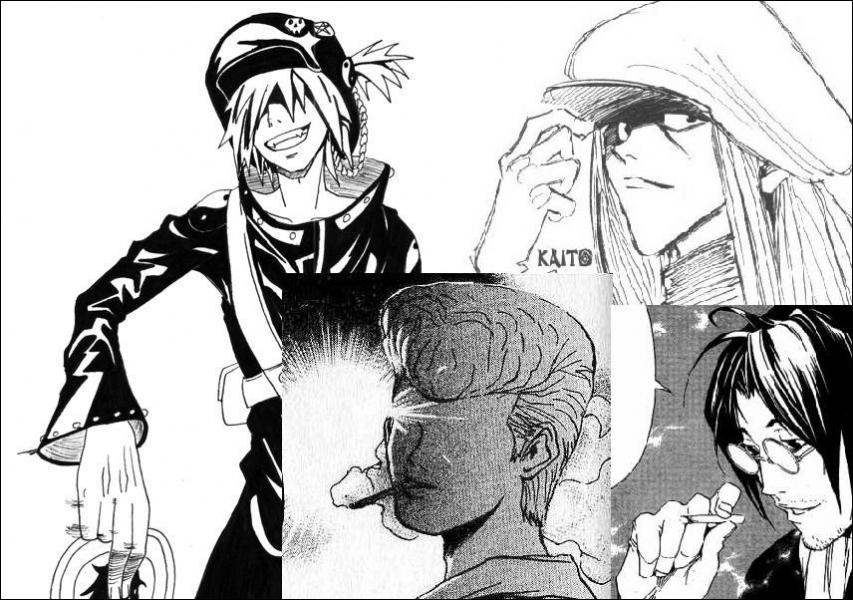 Kuroki, Kaito, Masaki et Nobuhiro. Des personnages peu connus, pourtant, ils ont un rôle clé identique pour chacun d'eux. Lequel ?