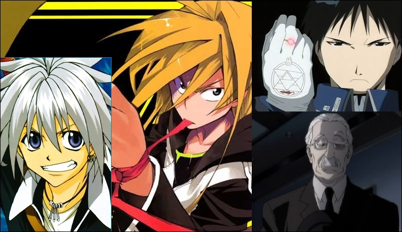 Haru, Nana, Roy et Watari. Des destinés biens différentes. Quel cliché du shônen manga représentent-ils ?