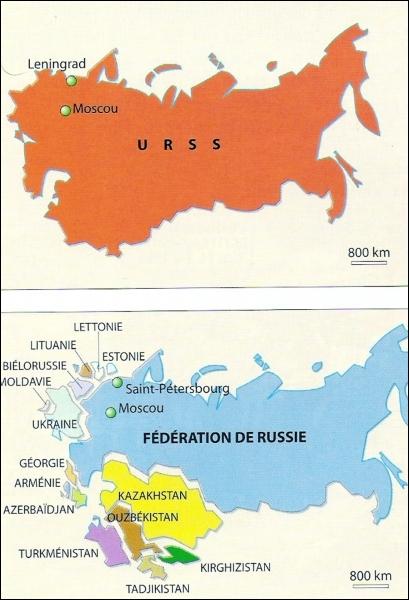 Histoire : en quelle année la chute de l'Union soviétique a-t-elle eu lieu ?