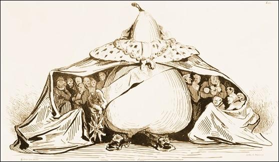 9 septembre 1835, sous Louis Philippe, une loi rétablit la censure proscrivant notamment la caricature politique. Vers quoi se tourneront les satiristes ?