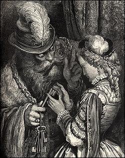 ... S'il vous arrive de l'ouvrir, il n'y a rien que vous ne deviez attendre de ma colère . Qui est l'illustrateur du conte  La barbe bleue  ?