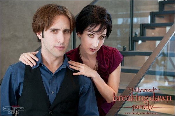 Qui interprète Alice dans les parodies de Twilight ?