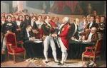 Comment s'appelle le traité de paix signé avec le Royaume-Uni en mars 1802 ? Il ne permettra qu'une petite accalmie de quelques mois avant la reprise de la folie guerrière de cette période troublée.